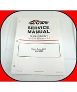 MerCruiser Service Manual Supplement # H.P-2 Stern Drive Unit IIIA SSM 9... - $17.77