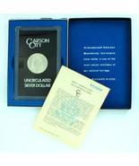 1882-CC  Pl Proof Like Carson City $1 Morgan Silver Dollar Orig Packaging - $799.99