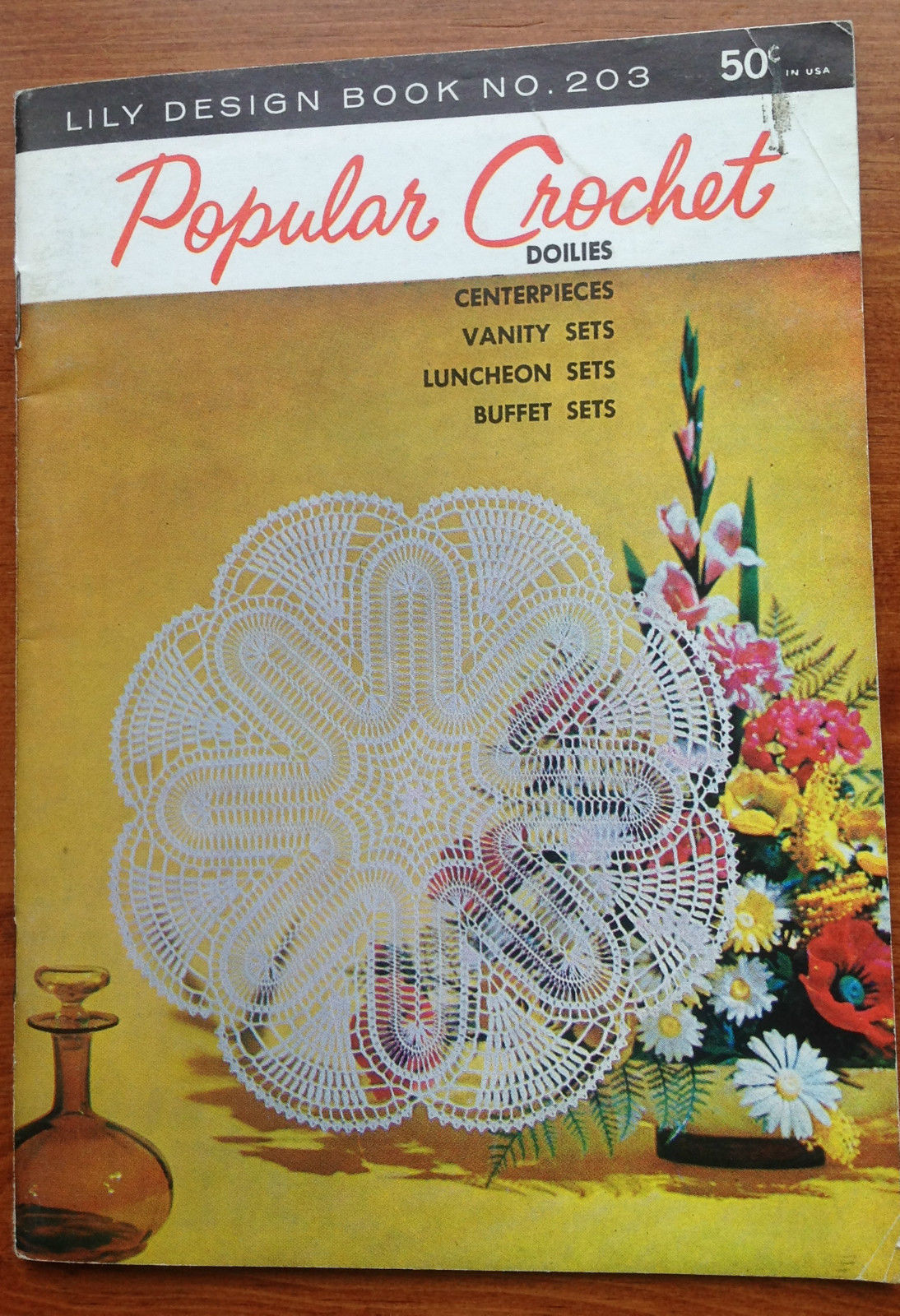 Popular Crochet Doilies Lily Design And 20 Similar Items