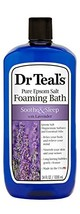 Dr Teal's Foaming Bath with Pure Epsom Salt, Soothe & Sleep with Lavender, 34 Ou