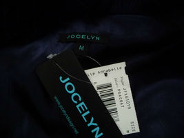 Jocelyn Bicolor Black Navy Roadie Fox Fur Vest New $1.1 image 12