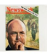 Newsweek Magazine March 31 1969 The War Richard Nixon's Big Test No Label - $23.75
