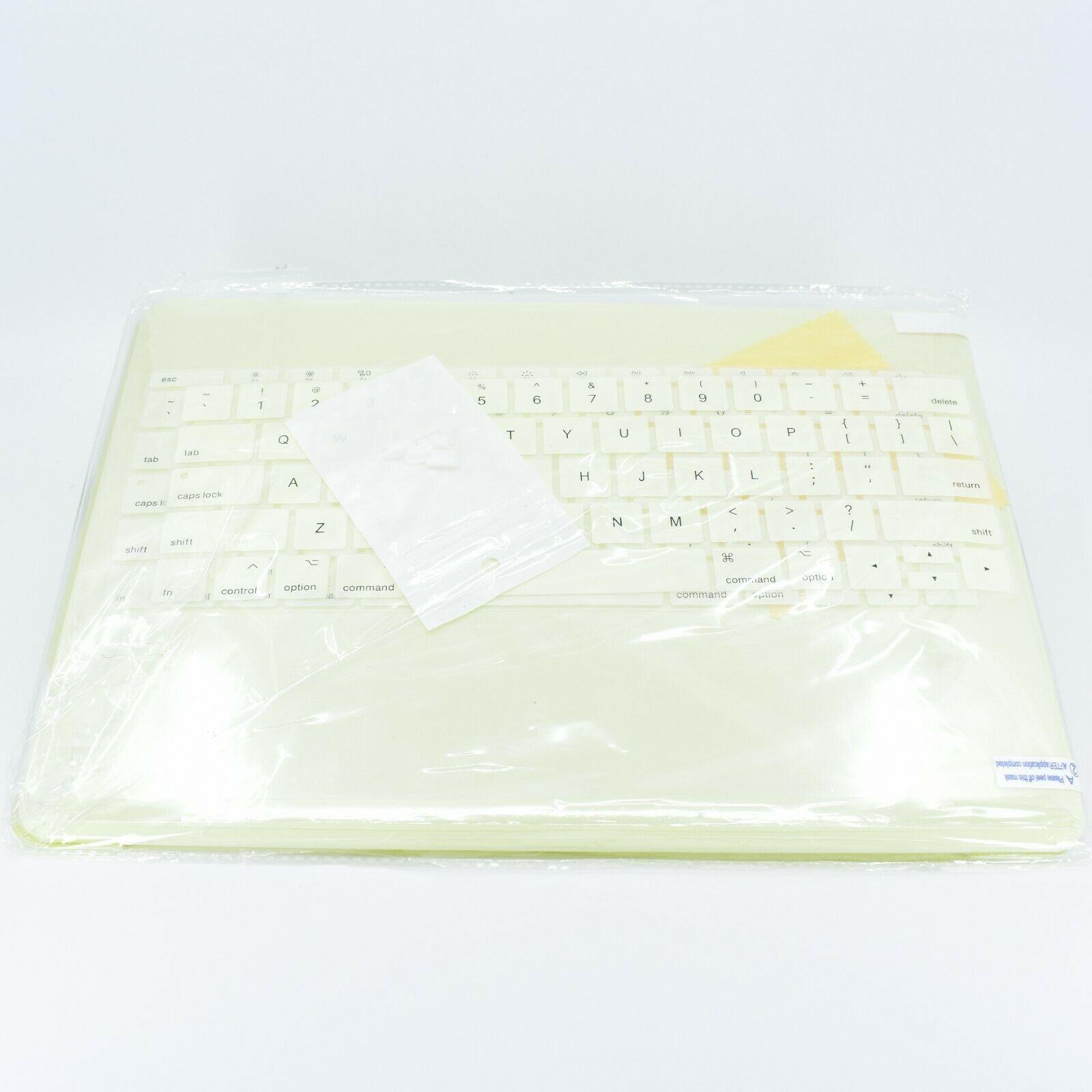 Dongke MacBook Pro 13 Inch Mellow Yellow Cream Laptop Shell Case