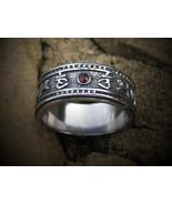 Haunted ring Solomon Hessa Hibah djinn of DESTINY OMNIPOTENT powers of MAGICK - $177.77
