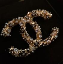 Crystal Little Flowers Brooch Pin Fashion Jewelry  - $46.74