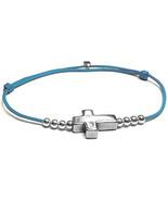 Cross Bracelet, cross jewelry, silver cross, religious jewelry, confirma... - $57.00