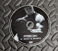P90X Back and Biceps fitness DVD replacement disc Beachbody with plastic... - $9.74