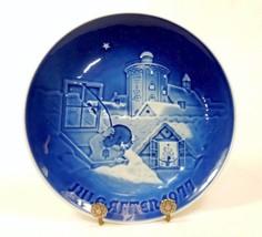 Bing & Grondahl Collector's Plate, Danish Christmas, Jule-Aften 1977, ~ ... - $19.55