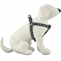 Good2Go Black Skull Print Step-in Dog Harness Size Large / Extra Large - $23.36