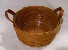 Longaberger Button Basket w/ Protector  - $27.44
