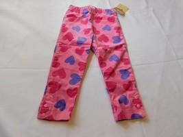 Osh Kosh B'Gosh Baby Girls Pants Corduroy Pink Hearts 24 Months NWT - $24.74