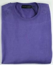 Ralph Lauren Herren Baumwolle Pullover Lavendel Lila SCHWARZ Label 225 - $167.22