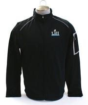 Majestic Black Super Bowl LII Black Zip Front Jacket Men's NWT - $52.49
