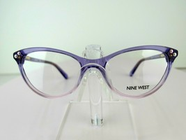 Nine West NW 5152 (516) Crystal Purple 49-16-130 PETITE FIT Eyeglass Frame - $49.45