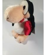 1982 DAKIN Plush OPUS PENGUIN LUST Valentine's BLOOM COUNTY Stuffed Anim... - $14.80