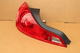 2008-13 Infiniti G37 Coupe Tail Light Lamp Driver Left LH image 2