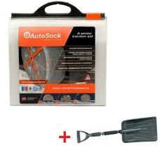AutoSock HD AL59 Snow Sock Set W/ Emergency Snow Shovel - $247.45