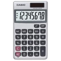 Casio Wallet Solar Calculator With 8-digit Display - $5.99