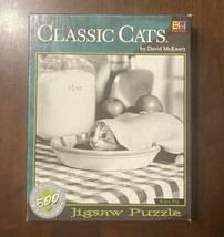 Buffalo 500 Piece Jigsaw Puzzle - Classic Cats : Kitty Pie - Complete - $10.29
