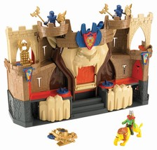 FISHER PRICE IMAGINEXT LION'S DEN CASTLE broken... - $19.79