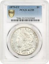 1879-CC $1 PCGS AU55 - Key Date from Carson City - Morgan Silver Dollar - $3,598.70