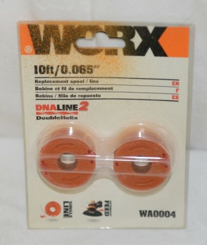 Worx WA0004 Ten Feet Replacement Spool Single Line Automatic Feed