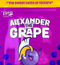 Alexander the Grape 5 LBs - Chewy Grape Candy - $31.99
