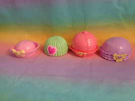 Fisher-Price Snap n Style Baby Doll 4 Replacement Hats - as is - $3.91