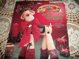 "18"" Daisy Kingdom Rudy Reindeer Doll Kit 32310 - $22.00"