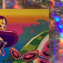 "Vintage Lisa Frank JUMBO FABULOUS FRUIT Oversized Sticker (about 5x6.5"") Minty image 3"