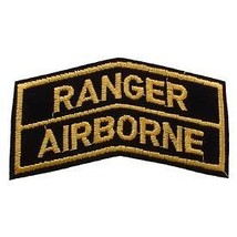 ARMY RANGER AIRBORNE SHOULDER ROCKER TAB EMBROIDERED MILITARY PATCH - $13.53