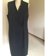 Dress,US Size 10,Black,Polyester,Sleeveless,,Armani Collezioni,Italy, - $69.30