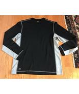 Alo Men's black gray long sleeve CoolFit yoga athletic shirt SMALL S  - $12.84