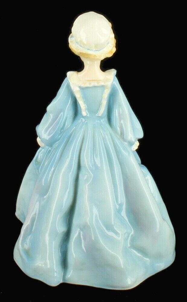 Vintage Royal Worcester Hand Painted Figurine Grandmother's Dress