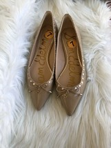 Sam Edelman Leather Shoes Pointy Toe Flats Size 7 Store Display - $69.29