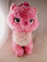 Disney Cat Marie Pink 12 inch Plush From Disney's Aristocats - $14.84