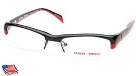 New Alain Mikli Ml 1004 0001 BLACK/RED Eyeglasses Frame 50-17-133mm B27mm - $106.91