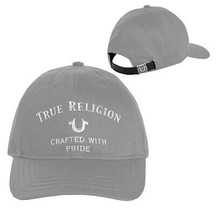 True Religion Men's Horseshoe Logo Hat Adjustable Baseball Cap Strapback TR2539