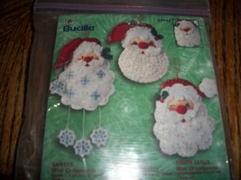 Bucilla Kit 84442~Santas Mini Ornaments - $7.00