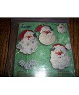 Bucilla Kit 84442~Santas Mini Ornaments - $6.00