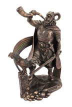 9.25 Inch Heimdall Norse God Mythology Figurine Figure Deity Viking Deco... - $60.75