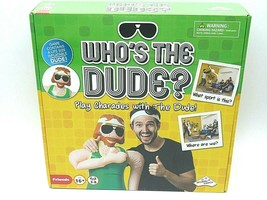 Who's the Dude? Charades Board Game - Inflatable Dude Character - $16.95