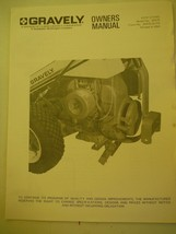 Gravely Tractors Walker Kick Stand owner's manual and illustrated parts list - $7.89