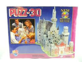 Bavarian Castle 3D Puzzle 1000 Pieces Wrebbit PUZZ 3D  - $45.49