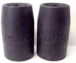 "Armstrong 19-612A 3/8"" 3/8"" Drive Impact Socket 6pt. USA 2PCS - $2.97"