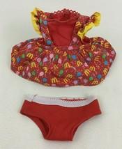 McDonaldland McDonalds Birthday Girl Doll Replacement Dress and Underwea... - $20.74