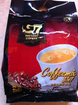 Coffee TRUNG NGUYEN- G7 3 in1 Regular Instant Mix 20 Packets ( New ) - $11.34