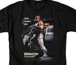 RoboCop Retro 80s action movie Peter Weller Cyborg graphic t-shirt MGM105 image 2