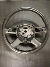 Original audi a6 4f 4f0419091ah Leather steering wheel - $24.75