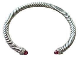 David Yurman Women's Pink tourmaline Cable Classics Bracelet with Pave - $338.10